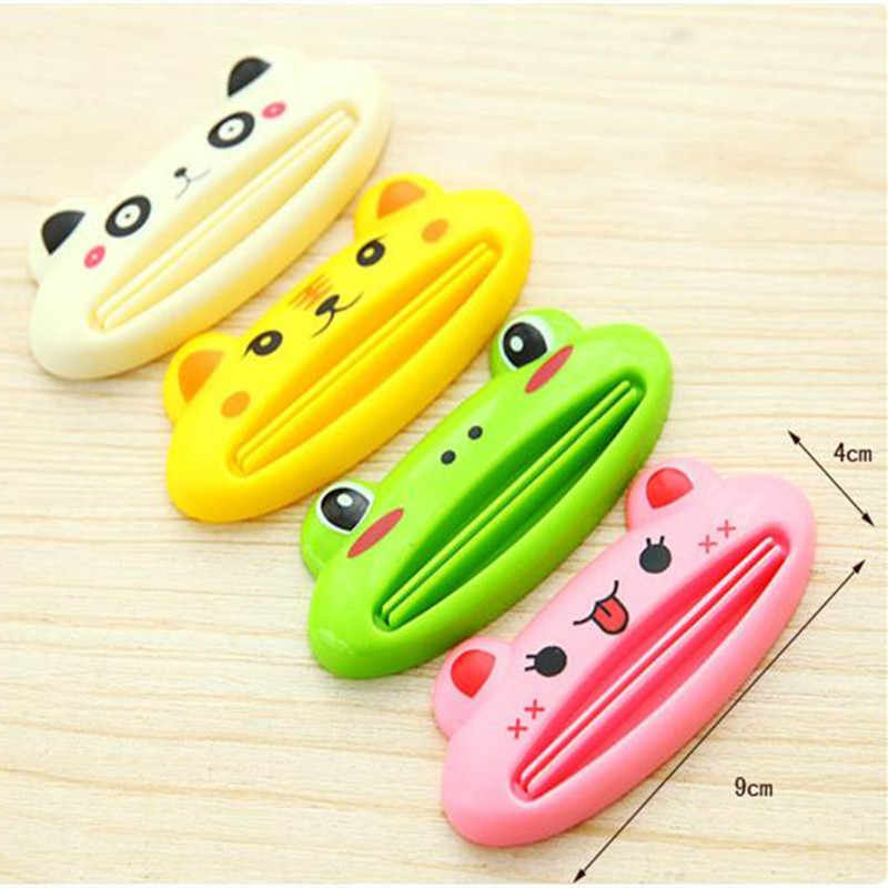 1Pcs Cute Animal multifunctionele squeezer tandpasta squeezer Thuis Commodity Badkamer Buis Cartoon Tandpasta Dispenser