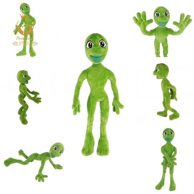 2018 The Hottest Toy Dame Tu Cosita Martian Man Plush Toys & Stuffed Animals Frog Green Dancing Alien Plush Green Frog Dancing