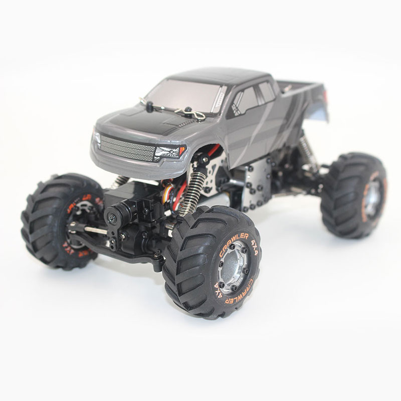 2098B 1:24 2.4Ghz Remote Control Rechargeable Rock Crawler Car Model EU Plug