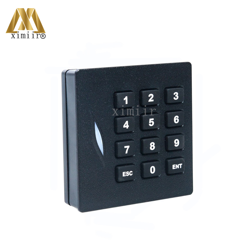 ZK KR102 125KHZ RFID Card Reader Wiegand26 Card Access Control Card Reader With Keypad IP65 Waterproof Card Reader 125khz rfid card reader weigand26 card access control card reader with keypad ip65 waterproof card reader kr102 zk software