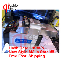 QiaChip New Style The BTC BCH Miner Asic Bitcoin Miner WhatsMiner M3 12TH S 0 17