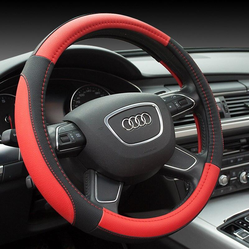 Nuevo deporte de lujo cubierta del volante del coche Seansons - Accesorios de interior de coche - foto 2