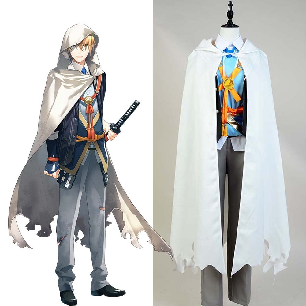Cosplay Touken Ranbu Yamanbagiri Kunihiro Cosplay Costume Full Set Costumes Halloween Carnival costume Men
