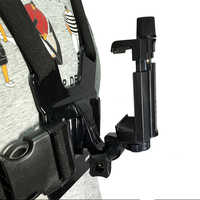 Chest Mount Harness Strap Holder With Cell Phone Clip For Mobile Phones