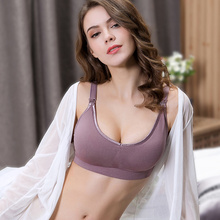 Cotton Maternity Nursing Bras  Pregnant Breastfeeding Pregnancy Women Underwear Breast Feeding Bra soutien gorge allaitement недорого