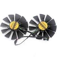 Original STRIX GTX970 980 780 STRIX R9285 FD9015U12S Graphics Card Fan