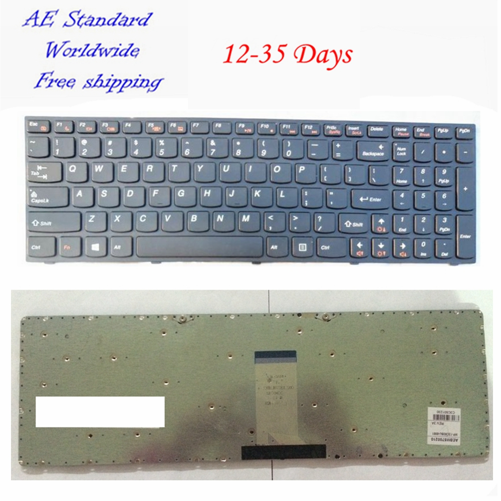 US Black New English Laptop Keyboard For Lenovo B5400 M5400 M5400a B5400 B5400a
