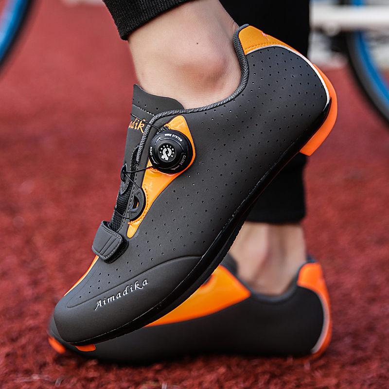 TOURSH Bicycle Shoes Road Cycling Shoes MTB Shoes Men Mountain Bike Shoes Sapatilha Ciclismo Mtb Sepatu