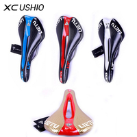 2016 Hot Sale Bike Bicycle Saddle MTB Road Racing Bike Parts PV Leather Hollow Out Comfortable