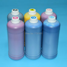 7 color - PK,C,M,Y,LC,LM,LK 1000ml / bottle pigment ink for Epson 7600 цена 2017