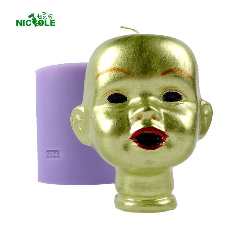 Aliexpress.com : Buy Nicole Silicone Mold For Soap Candle
