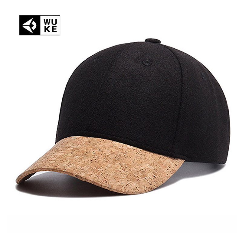 [Wuke] Branded Patchwork Cap Trucker Baseball Caps For Man Woman Black Color Simple Hat 2017 New Fashion Spring Summer Autumn new england patriols sports hat caps american football team logo snapback baseball cap hat christmas gift for man and woman