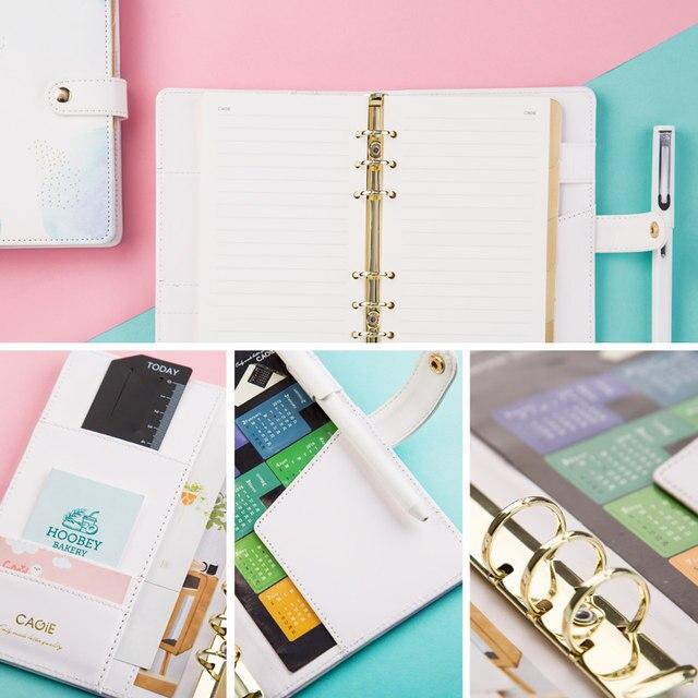 online shop cagie creative trends a6 spiral notebook kawaii planner
