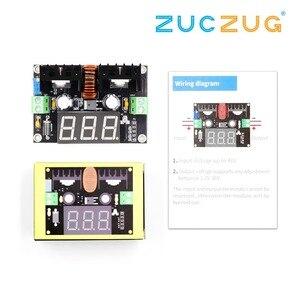 Image 2 - XL4016 LM317 LED Digital Voltmeter Voltage Regulator Meter XL4016E1 DC DC Buck Step Down Module 200W 8A PWM 4 40V to 1.25 36V