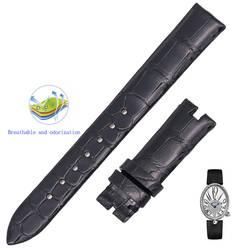 Подходит для серии Naples queen Шелковый ремешок, пользовательские крокодиловой кожи женские часы ремешок
