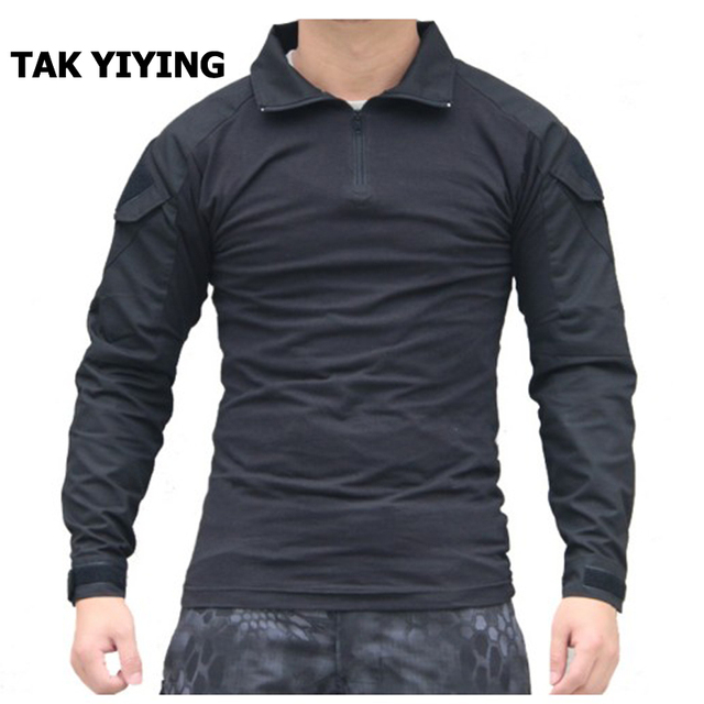 TAK YIYING Heat Resistant Tactical Long Sleeve Lightweight Outdoor Combat  Shirt With Elbow pads f4cbc56b980