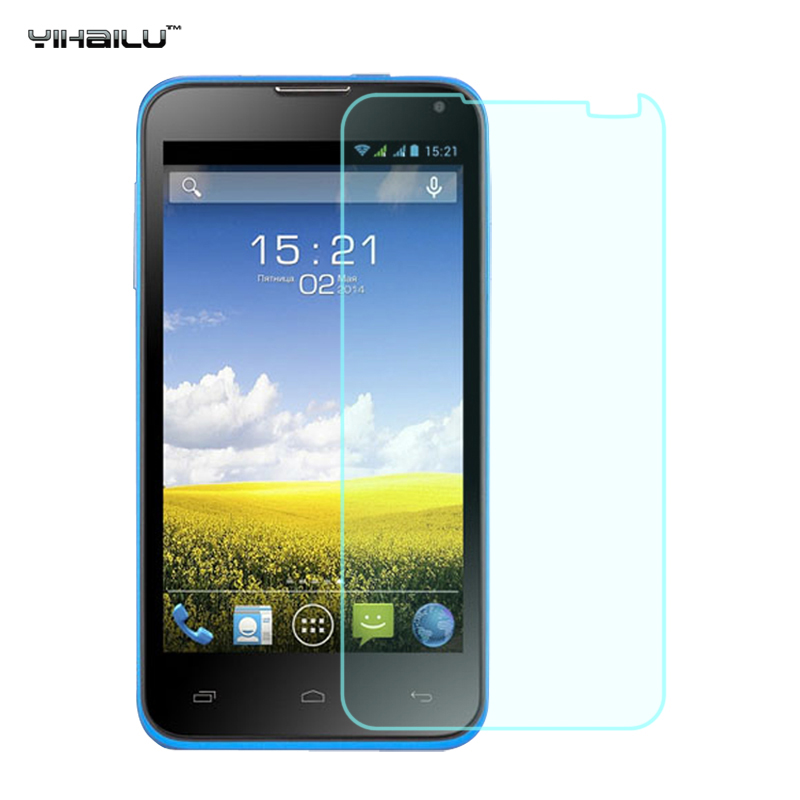 Yihailu For FLY Era Style 3 IQ4415 Tempered Glass Screen Protector Ultra Thin 2.5D Arc 9H Anti-explosion Toughened Film