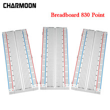 Breadboard 830 Point Solderless PCB Bread Board For DIY KIT Protoboard PCB Board Test Circuit Board For arduino/raspberry pi(China)