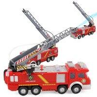 Children's Electric Toys Sprinkler Fire Truck Universal Light Music Model Toys