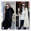 2017 Winter Thick Warm Faux Fur Vest Women's Faux Fox Fur Coat Outerwear Women Fur Vest Jacket Overcoat Long