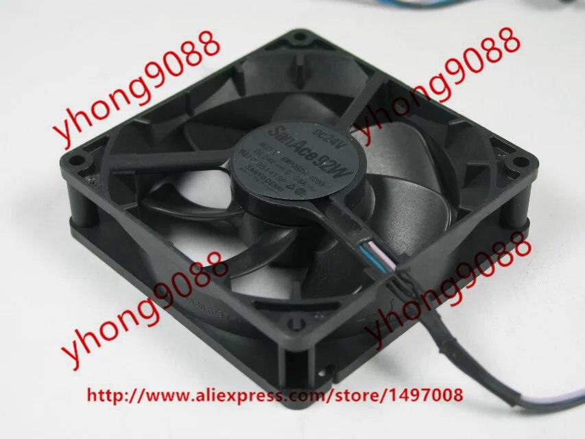Sanyo 9WP0924F4D03 DC 24V 0.08A, 90x90x25mm  Server Square  Fan