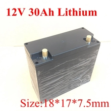 Литий ионный аккумулятор 12v 30ah комплект литий ионный батарей для кемпинга на открытом воздухе источник питания Электрический мотоцикл аккумулятор 12v + 3A зарядное устройство