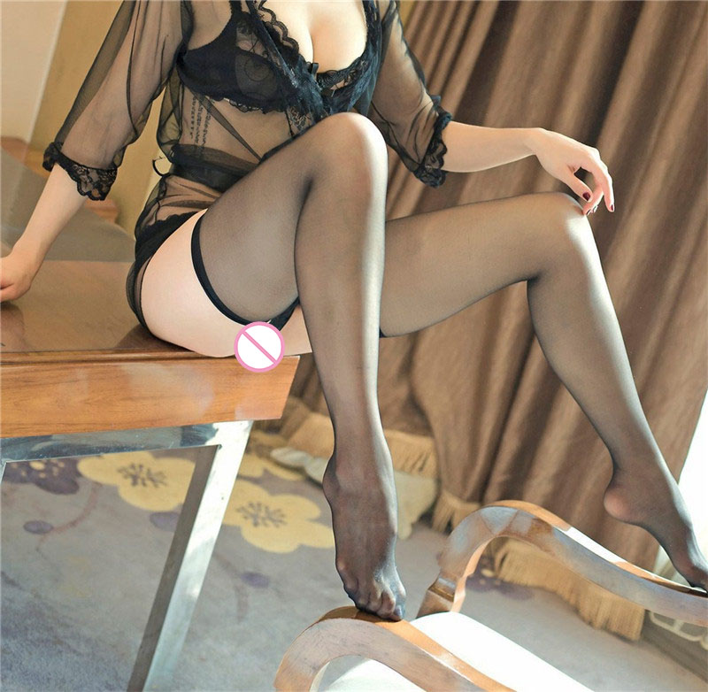 Summer Sexy Stockings Women Lace Babydoll Thin Section Transparent Elastic Underwear Nightwear Thin Solid Stocking Fantazi Seks