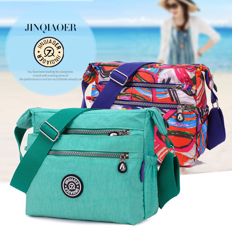 La famosa bolsa de mensajero de moda y ocio impermeable de nylon para la bolsa de hombro de las mujeres de Lady