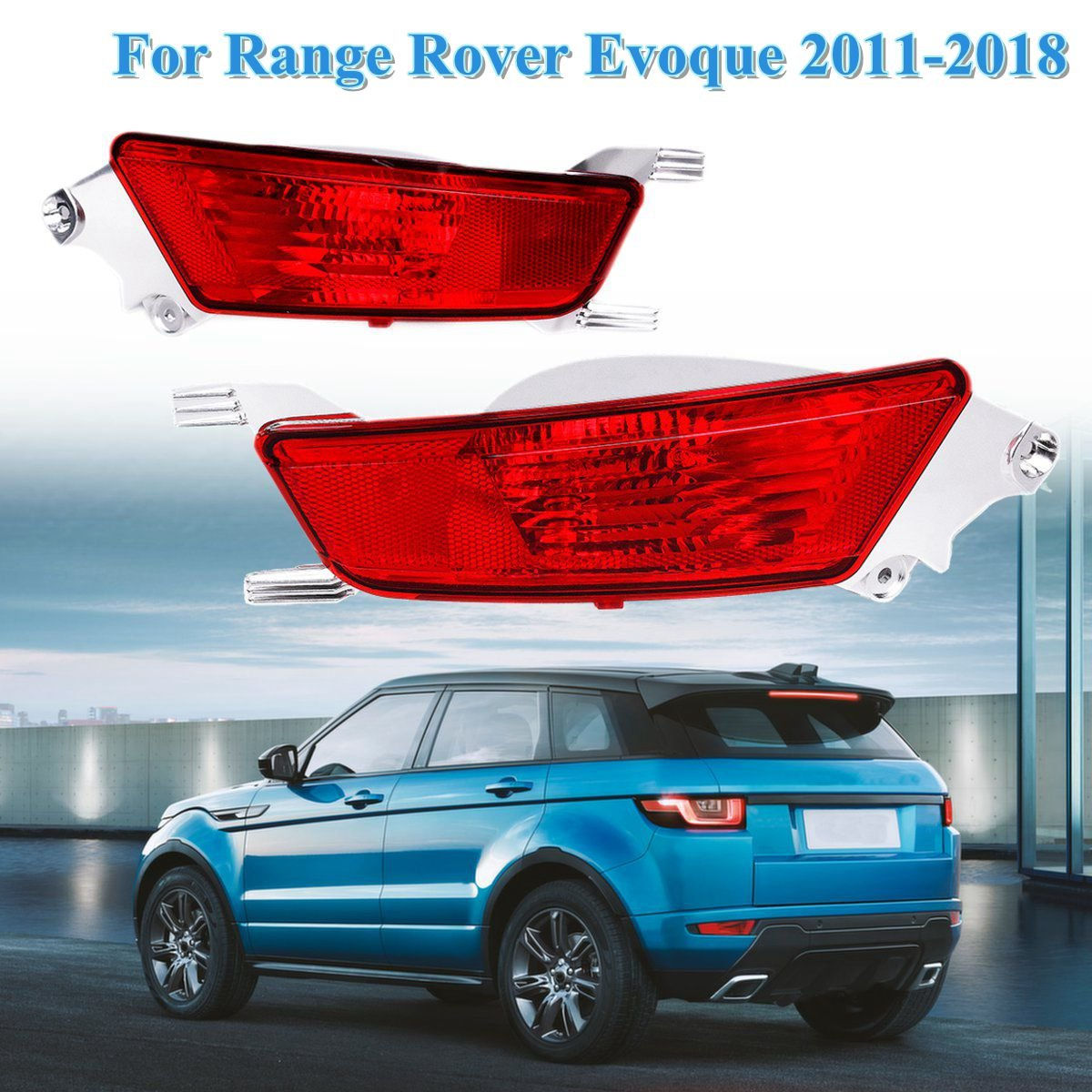 Headlamp Mounting Plate Left Right For 2012-2016 Land Rover Range Rover Evoque