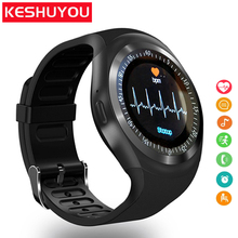 Y1 plus Bluetooth Smart Watch men women Relogio SmartWatch Android Phone Call GSM Sim Remote Camera Information Sports Pedometer