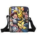 Anime Pokemon Kyogre Pikacun Mini Messenger Bag Pidgeotto Niñas niños Bolsas Escuela Niños Mochila Bolsas de Hombro Para Refrigerios Almuerzo