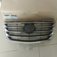 Front-middle grille front face electroplated medium grille For Hyundai 06-09 Azera 2.4 2.7 3.3