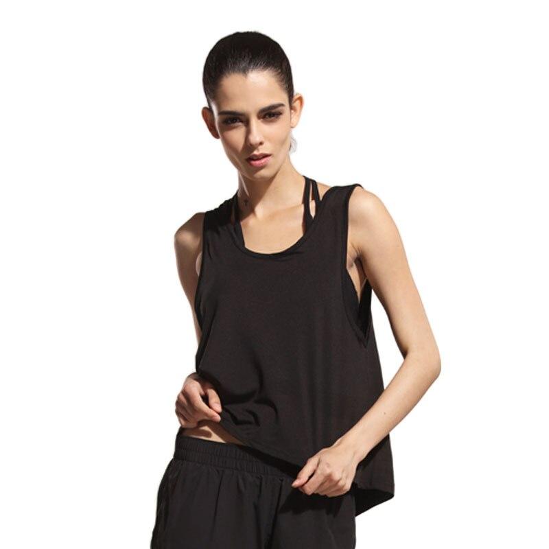 Tank Tops Shirts Women Yoga Shirts Women Sportswear Gym Woman Running Shirts Sports Gym For font