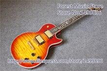 Cherry Sunburst CS Электрический LP Custom Shop электрогитары в наличии