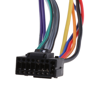 Image 3 - Adaptador arnés de Cable de coche para Kenwood / JVC estéreo para coche Radio ISO estándar, adaptador de conector de 16 Pines, Plug Play, 1 Uds.