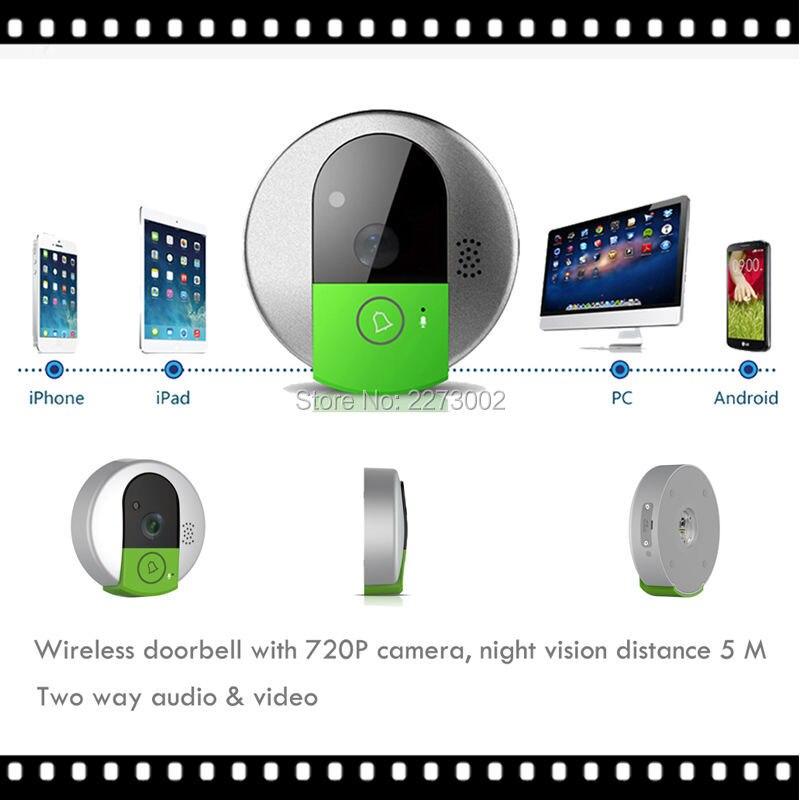 New Mini Wireless Doorbell font b Camera b font WiFi font b Door b font Intercom