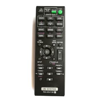 New Replace RM-ADU138 Audio/Video Receiver Remote Control For Sony Generic 148931811 DAVTZ140 Home Theater System new original rm suxgn9vu for jvc home theater cinema audio remote control