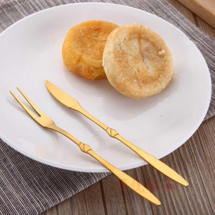1 ชิ้นผลไม้ส้อมเค้กสลัดผักส้อมเด็กช้อนส้อมเด็กการ์ตูนส้อม