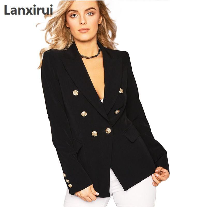 Women Business Suits Blazers Elegant Spring Autumn