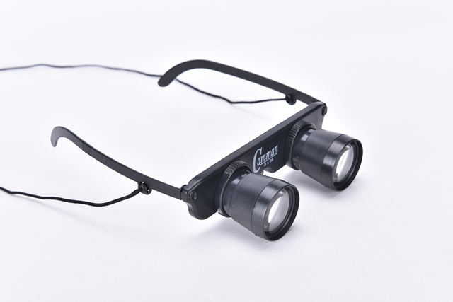 10mm 3x28 magnifier glasses style outdoor fishing optics binoculars