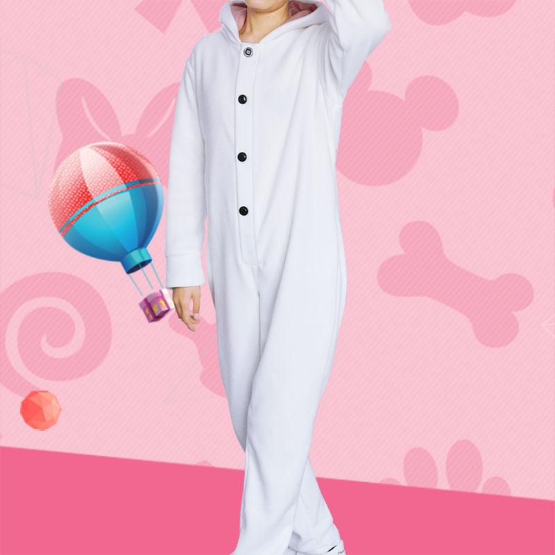 Seishun Buta Yarou wa Bunny Girl Panda Pajamas Senpai no Yume wo Minai Azusagawa Kaede Cosplay Costume Sleepwear Jumpsuit Unisex