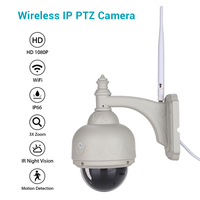 WIFI Camera Outdoor PTZ IP Camera 1080p Speed Dome CCTV Security Cameras IP Camera WIFI Exterior 2MP IR Home Surveilance