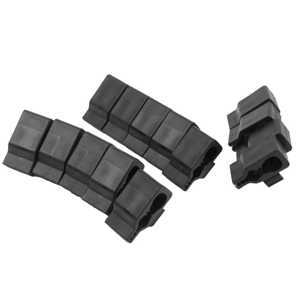14pcs Black Golf Putter Holder Clamp Ball Mark Clip-on Belt Clip For Training Durable Shockproof 100% Brand NEW