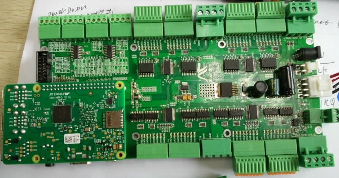 Raspberry Pie Industrial Expansion Board Raspberry Pic Floor E50 Containing RS485 SPI