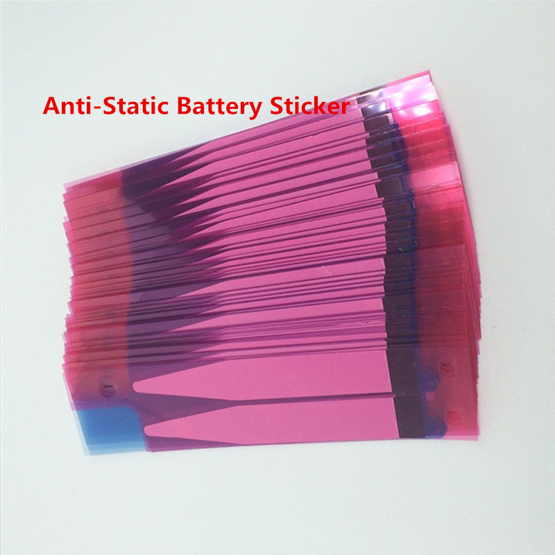 Atten 100Pcs High Quality New Anti-Static Battery Adhesive Glue Tape Sticker Strip for IPhone6 6plus Replacement Parts