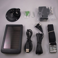 Free shipping solar panel for hunting cameras HC300A HC300M HC500M HC550M HC550