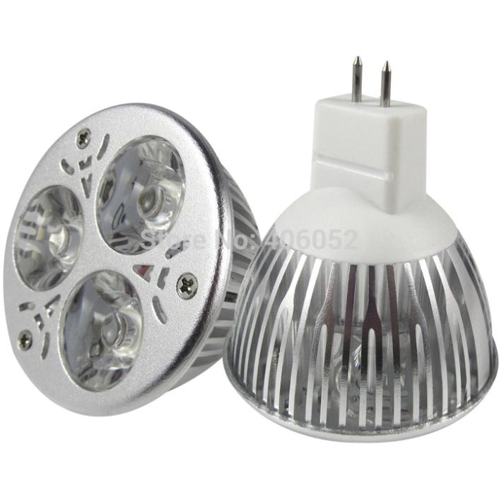 10pcs/lot Led Lamp 9W Dimmable MR16 12V Led spot Light led bulb lights downlight lighting