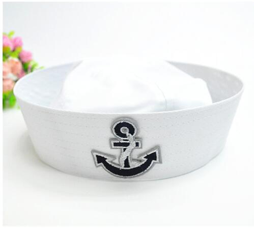 Military Hats Unisex Seaman Big Arrow Navy Cap Captain Sailor Hat Cap Performance Sailor Navy Hat Cap With Anchor 2018