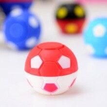 New Football Finger Spinner Fdget Spinner Gyro Children EDC SensoryTtoy Anti Stress Toys Ball  Snitch Machine Gift Hand Spinner