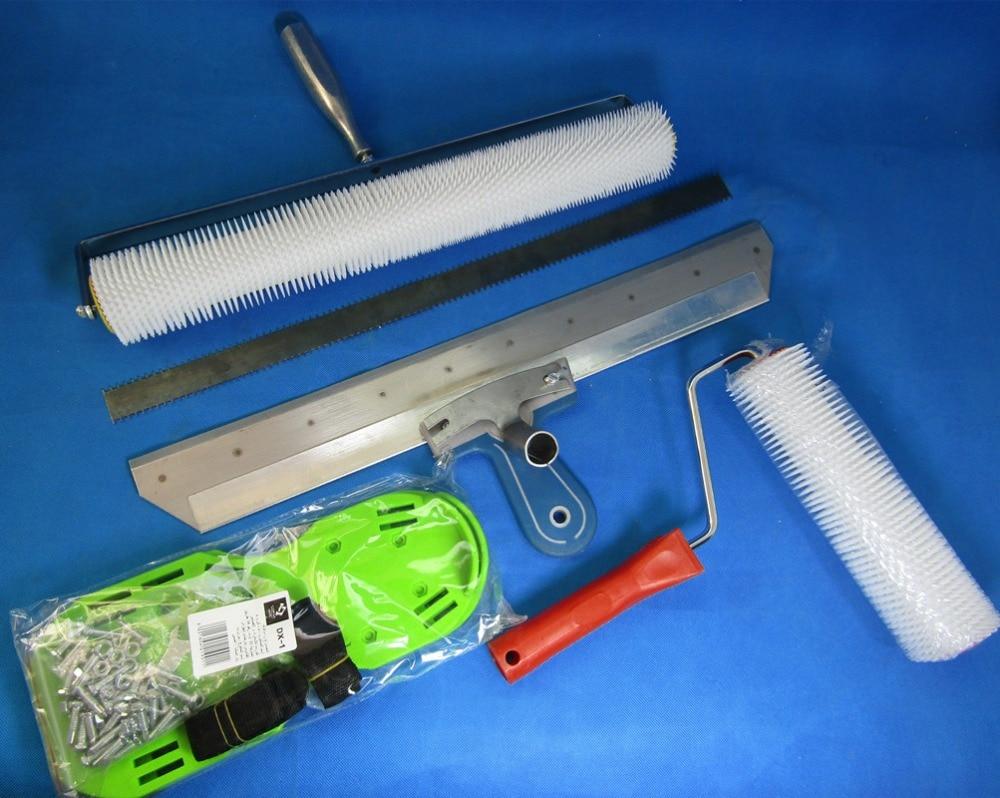 Level Quick Floor Leveler : Cement self leveling kit epoxy floor paint roller blade